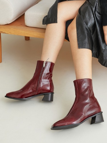 [W CONCEPT EXCLUSIVE] BKB20415 RIN ANKLE BOOTS / 5COLORS